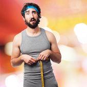 Sportsman diet concept — Foto Stock
