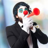 Clown in a party — Stock Photo