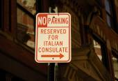Reserved for Italian Consulate — Stockfoto