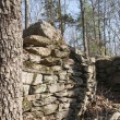 Old foundation wall — Stock Photo #74217789