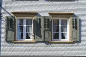Traditional Appenzell building exterior in Appenzell, Switzerland. — Foto Stock