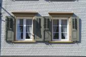 традиционный аппенцель, строящий внешность в аппенцеле, швейцария. — Стоковое фото