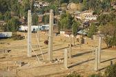 UNESCO World Heritage obelisks of Axum, Ethiopia. — Stock Photo