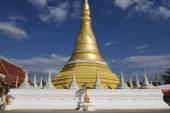 Wat Chumphon Khiri Tempel, Mae Sot, Provinz Tak, Thailand. — Stockfoto