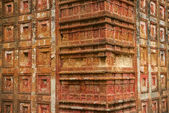 Terracota tiles at Pancharatna Govinda Temple in Putia, Bangladesh. — Stockfoto