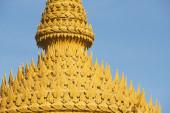 Top of the chedi in Nakhon Sri Thammarat, Thailand. — Stock Photo