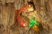 Beautiful Tham Jang cave, Vang Vieng, Laos. — Stock Photo
