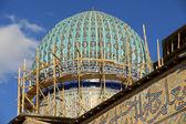トルキスタン、カザフスタンのホージャ Ahmed Yasavi 廟. — ストック写真