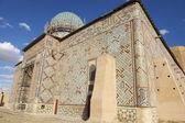 Mausoleum of Khoja Ahmed Yasavi in Turkistan, Kazakhstan. — Stock Photo