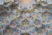 Exterior detail of the Nasir al-Mulk mosque in Shiraz, Iran. — Stock Photo