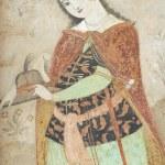 Постер, плакат: Interior of the Ali Qapu palace in Shiraz Iran