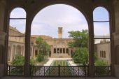 Exterior of the Lari house in Yazd, Iran. — Stockfoto