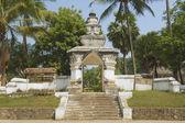 Exterior of the Visounnarath temple gate in Luang Prabang, Laos. — Stock Photo