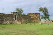 Exterior of the San Felipe Fort in Puerto Plata, Dominican Republic. — Stock Photo