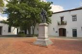 Exterior of the monument to Don Francisco Billini in Santo Domingo, Dominican Republic. — Photo