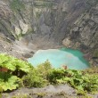 Crater of the Irazu active volcano situated in the Cordillera Central close to the city of Cartago, Costa Rica. — Stock Photo #67437081