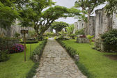 Santiago Apostol Katedrali Cartago, Costa Rica kalıntıları dış. — Stok fotoğraf