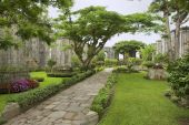 Exterior of the ruins of the Santiago Apostol church in Cartago, Costa Rica. — ストック写真