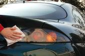 Car detailing — Stock Photo