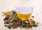 Herbal tea — Stock Photo