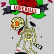 Love Kills — Stock Vector #67362153