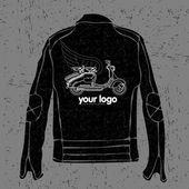 Jackets. Yourlogo — Stock vektor