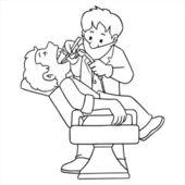 Dentist — Stock Vector