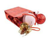 Gift package with New Year — Stock Photo