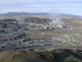 Industriellt komplex på asbest utvinning — Stockfoto