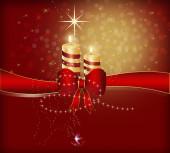 Christmas design 1a — Stock Photo