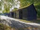 Wooden farm — Stock Photo