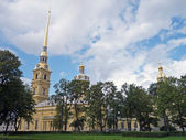 Peter and Paul Fortress Saint Petersburg — Stock Photo