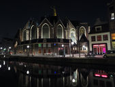 Oudekerk Amsterdam by night — Stock Photo