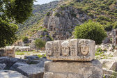 Myra Rock Tombs, Demre, Turkey — Stock Photo