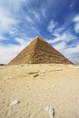 Pyramids of Giza - Pyramid of Khafre in Egypt — Stock Photo