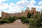 Amphitheatre in El Djem, Tunisia, Africa — Stock Photo
