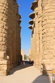 Pillar, Karnak Temple in Egypt, Africa — Stock Photo