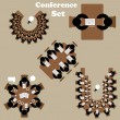 Conference, meeting icons set — Stock Vector #61121515