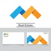 Real estate symbolical — Stock Vector