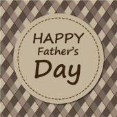 Fathers day card design — Stock Vector