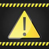 знак опасности — Cтоковый вектор