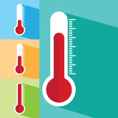 Thermometers icon — Stock Vector