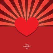 Valentines design template — Stock Vector