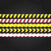 Danger tapes. — Stock Vector