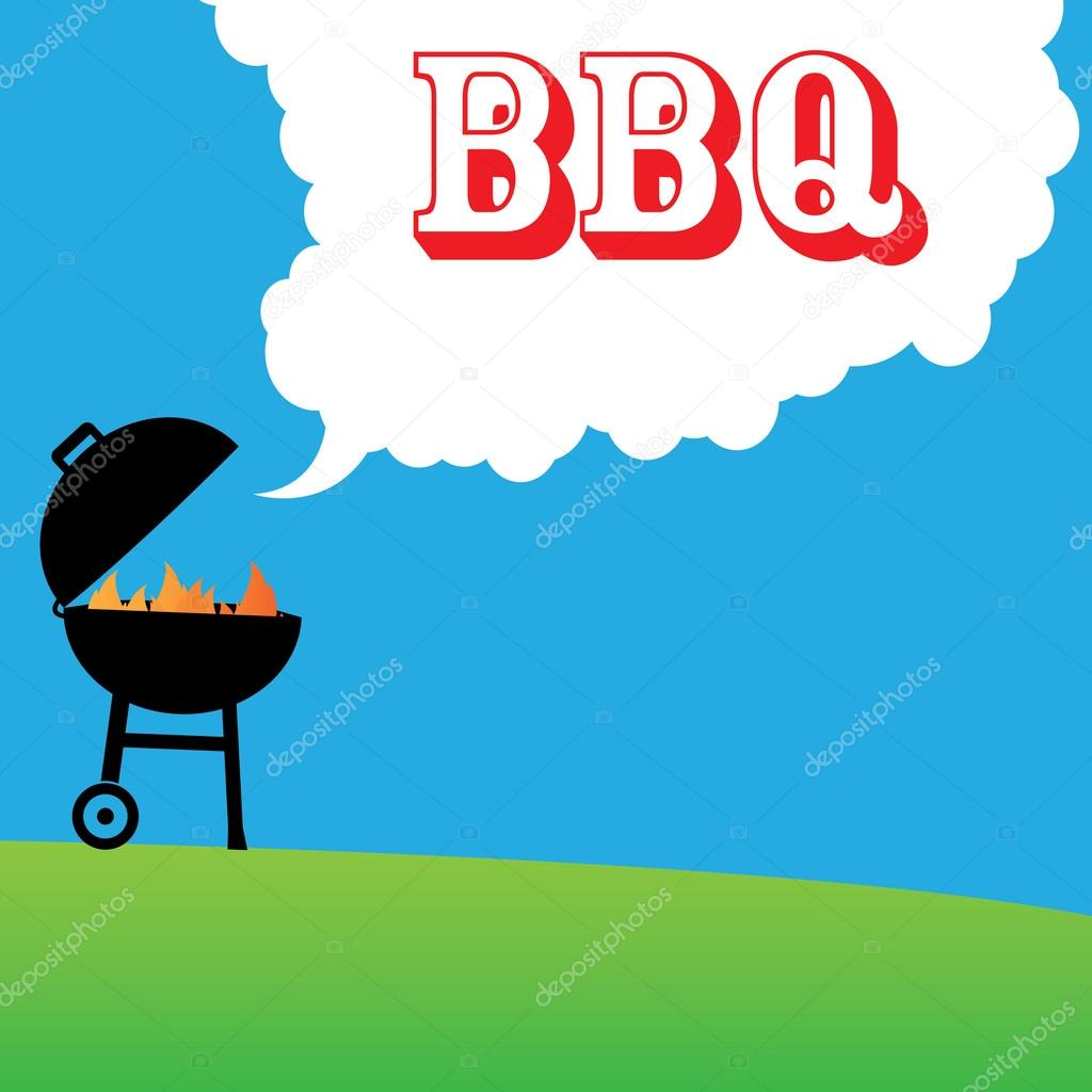 Barbecue background — Stock Vector © 4zeva #61121229