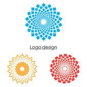 Business abstrakt cirkeln ikon — Stockvektor