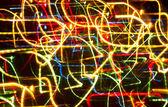 Focused bokeh lights — Stock Photo