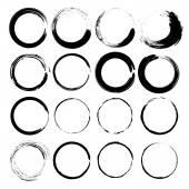 Grunge circles vector. — Stock Vector