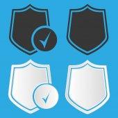 Security shield icon — Stock Vector