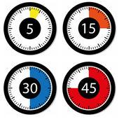 套的计时器 — 图库矢量图片